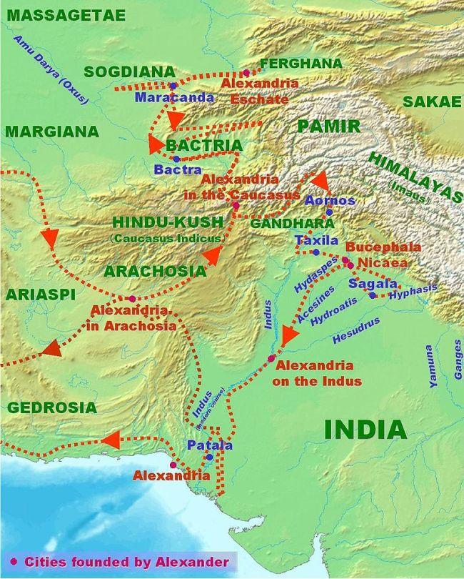 Alexander in India