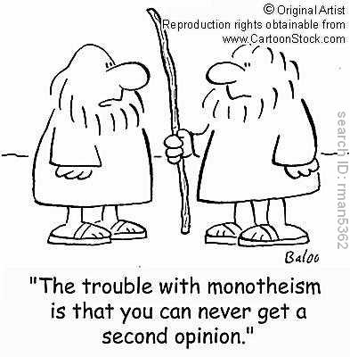 Monotheism : No second opinion!