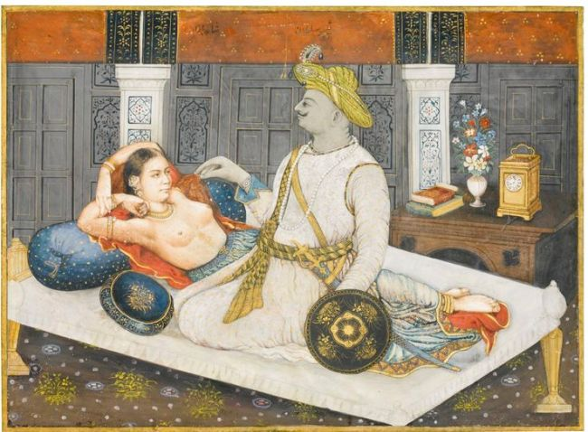 Tipu and Mistress